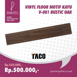 Vinyl Floor Motif Kayu V-001 Rustic Oak
