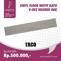 Vinyl Floor Motif Kayu V-003 Washed Oak