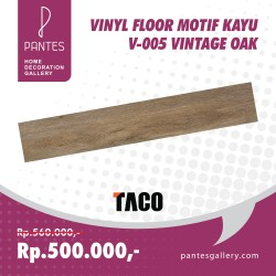 Vinyl Floor Motif Kayu V-005 Vintage Oak