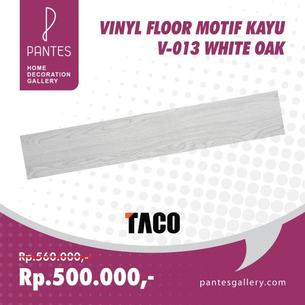 Vinyl Floor Motif Kayu V-013 White Oak