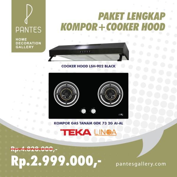 Paket Kompor + Cooker Hood