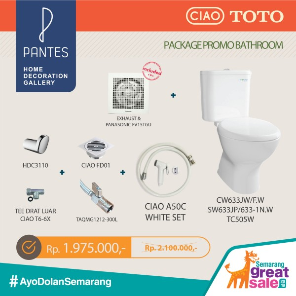 PROMO BATHROOM PACKAGE