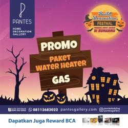 Paket Water Heater Gas Oktober