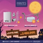 Paket Water Heater Gas Oktober