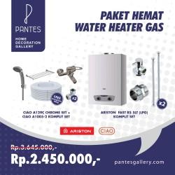 Paket Hemat Water Heater Gas