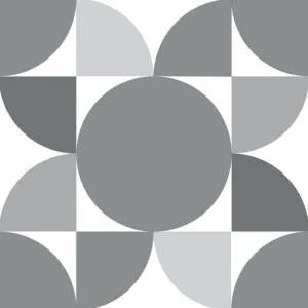 dCirculum Grey 20 x 20 cm